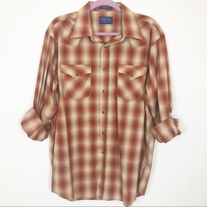 Pendleton Long Sleeve Frontier Shirt
